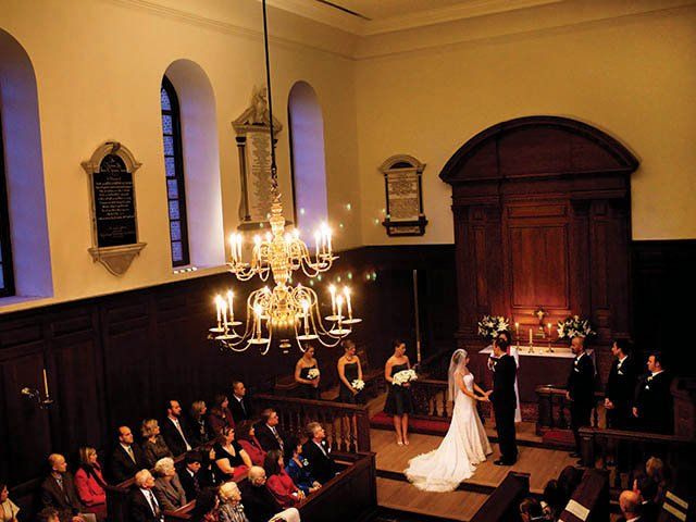 Wren Chapel Wedding