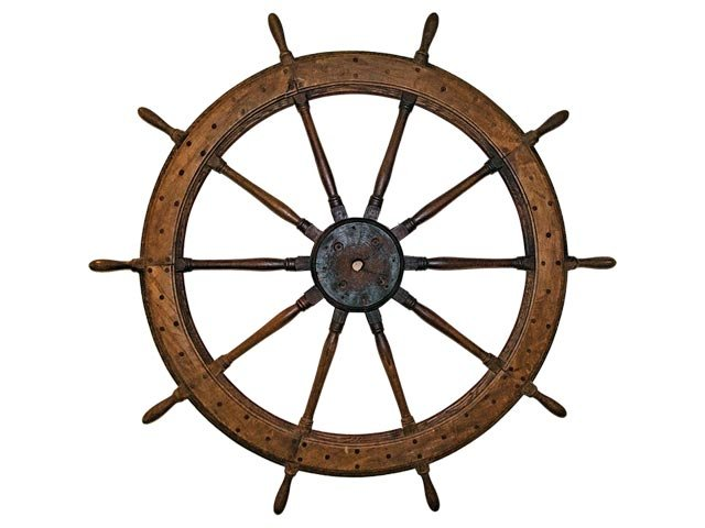 Steamboat Era Museum - wheel