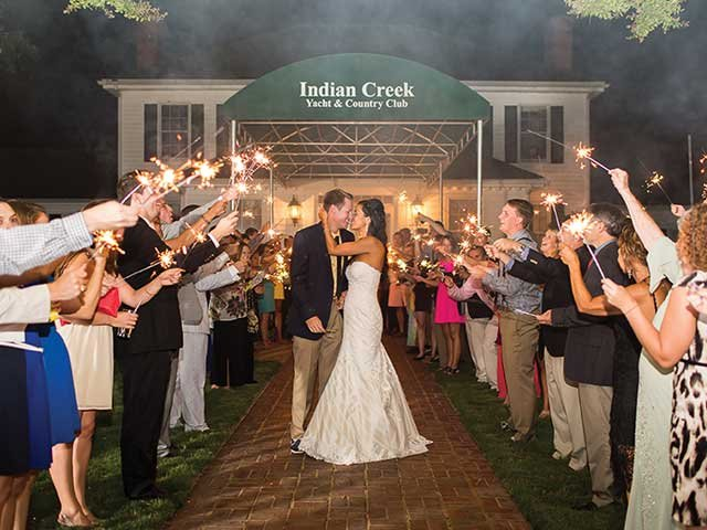 Wedding at Indian Creek Yacht & Country Club