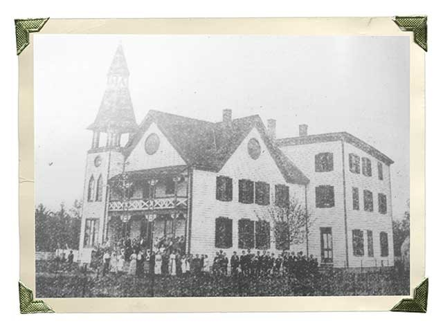 Vintage photo of Chesapeake Academy