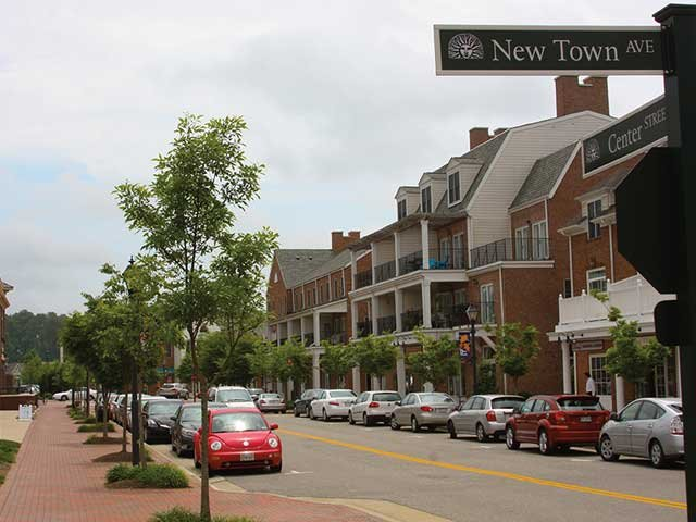 New Town Avenue