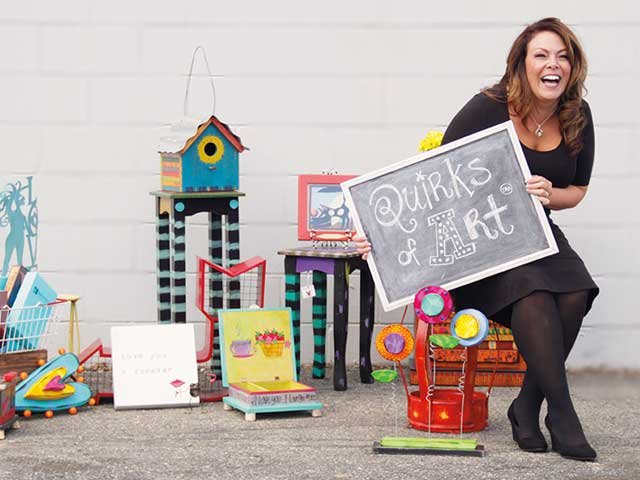 Jennifer Raines of Quirks of Art