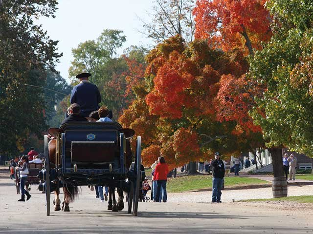 Carriage ride through Colonial Williamsburg