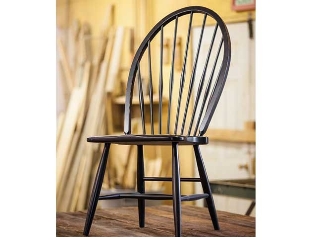 The Hoskins Creek New England Windsor chair